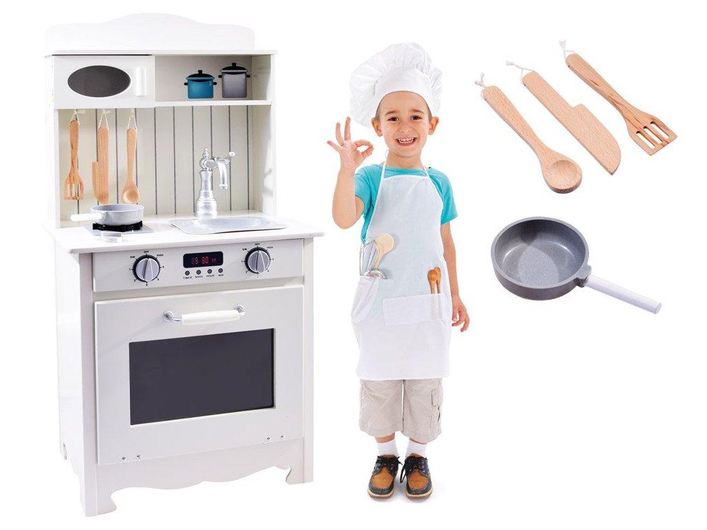 pol pl Drewniana Kuchnia dla dzieci z wyposazeniem ZA2682 13840 1