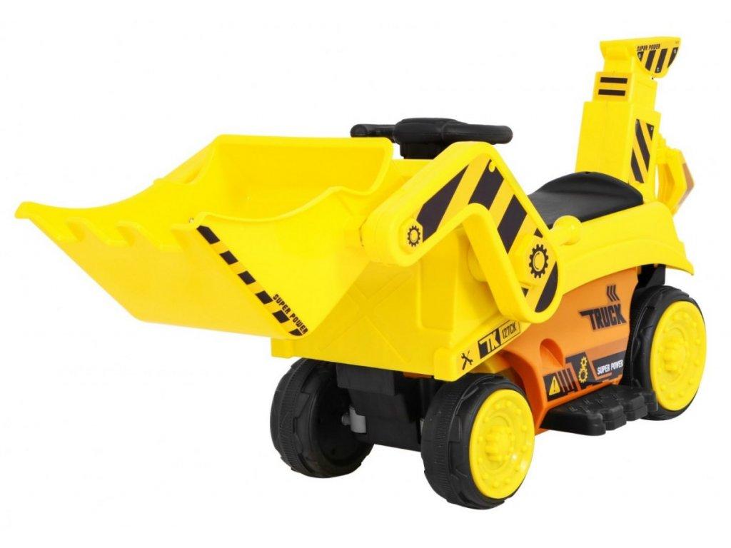 Pojazd Koparka Traktor Zolty [38366] 1200