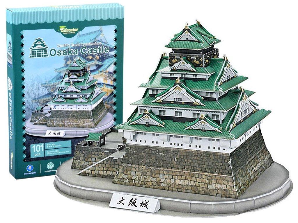 pol pl Puzzle 3D trojwymiarowe ZAMEK Osaka 101 ele ZA2901 14445 1
