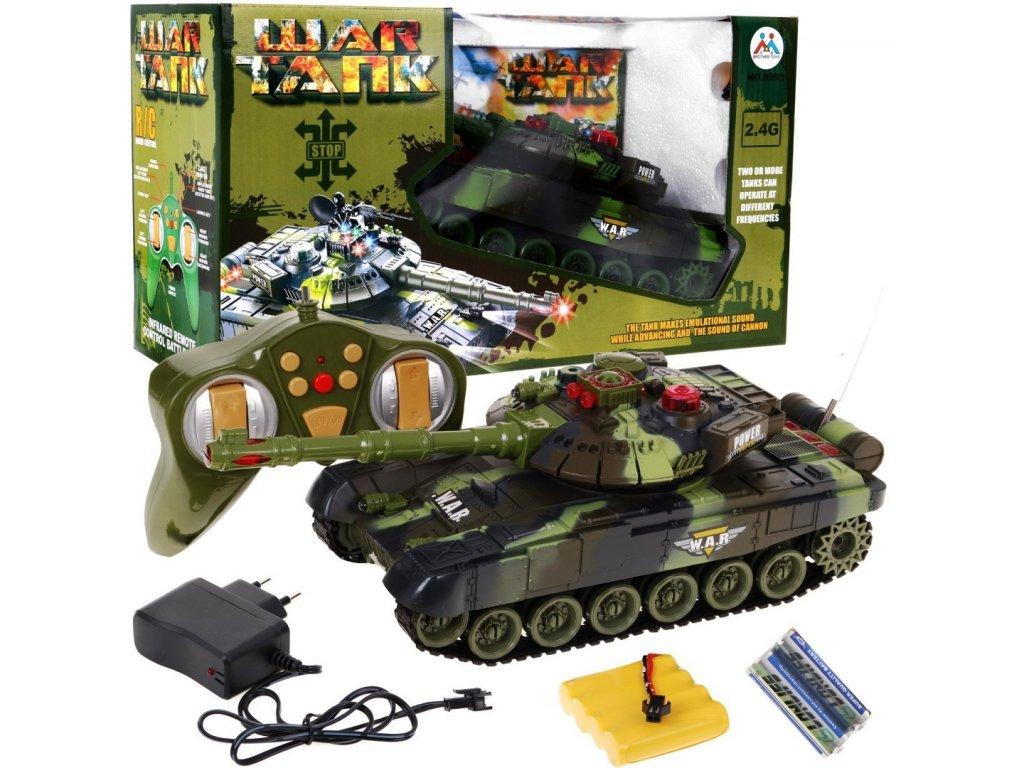 mamido Vojenský tank na dálkové ovládání 1