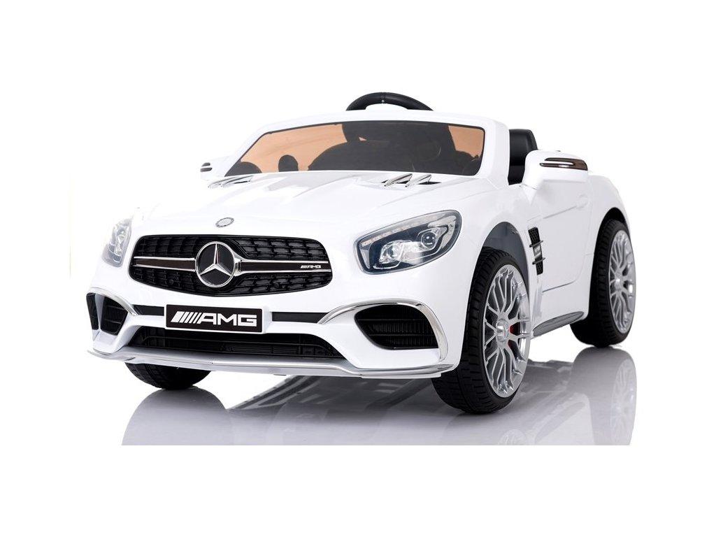 Mamido Mercedes SL65 LCD bile (10)
