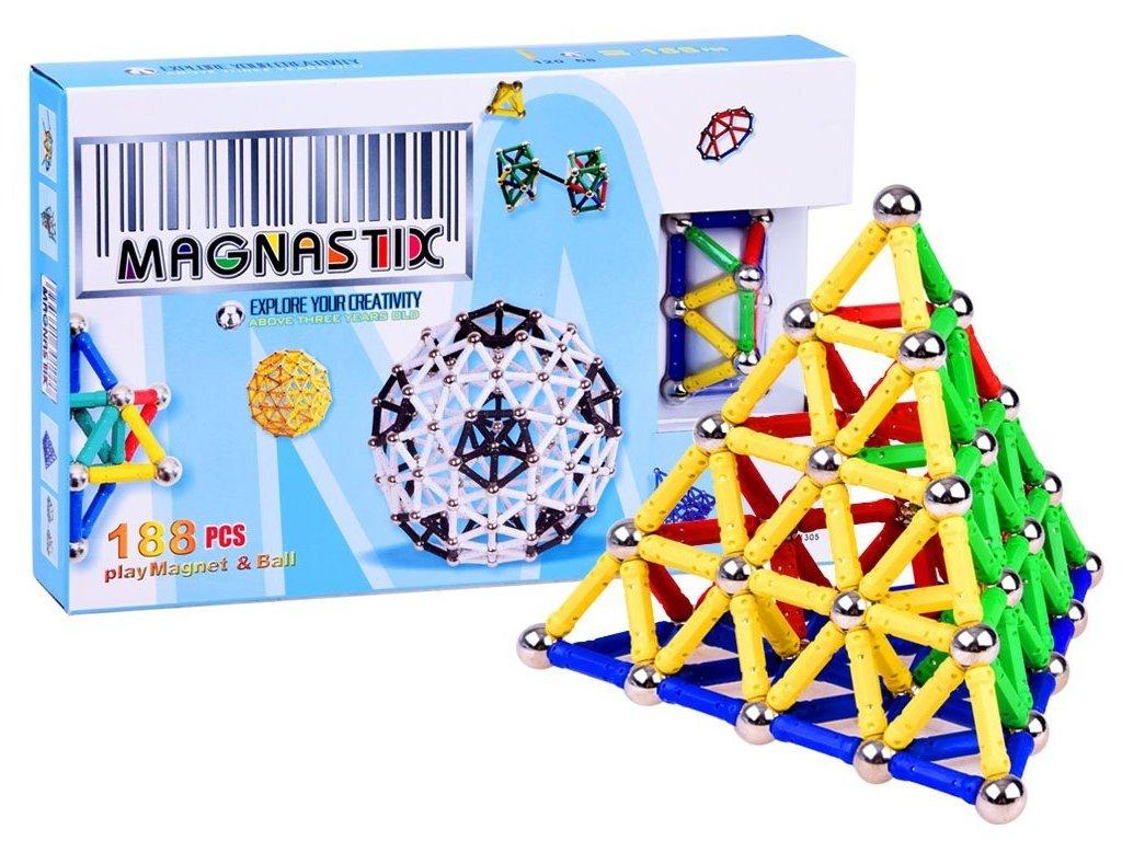 pol pl Klocki Magnetyczne MAGNASTIX 188 elementow ZA0082 7436 1