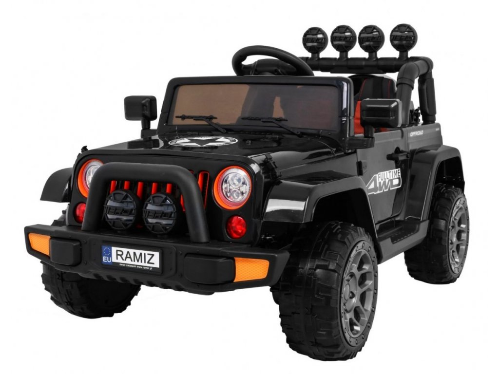 Pojazd Terenowy Full Time 4WD Czarny [38116] 1200