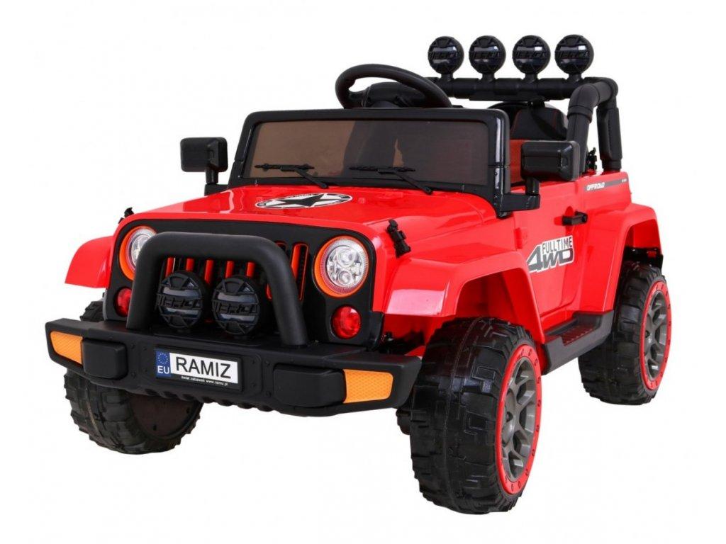 Pojazd Terenowy Full Time 4WD Czerwony [38117] 1200