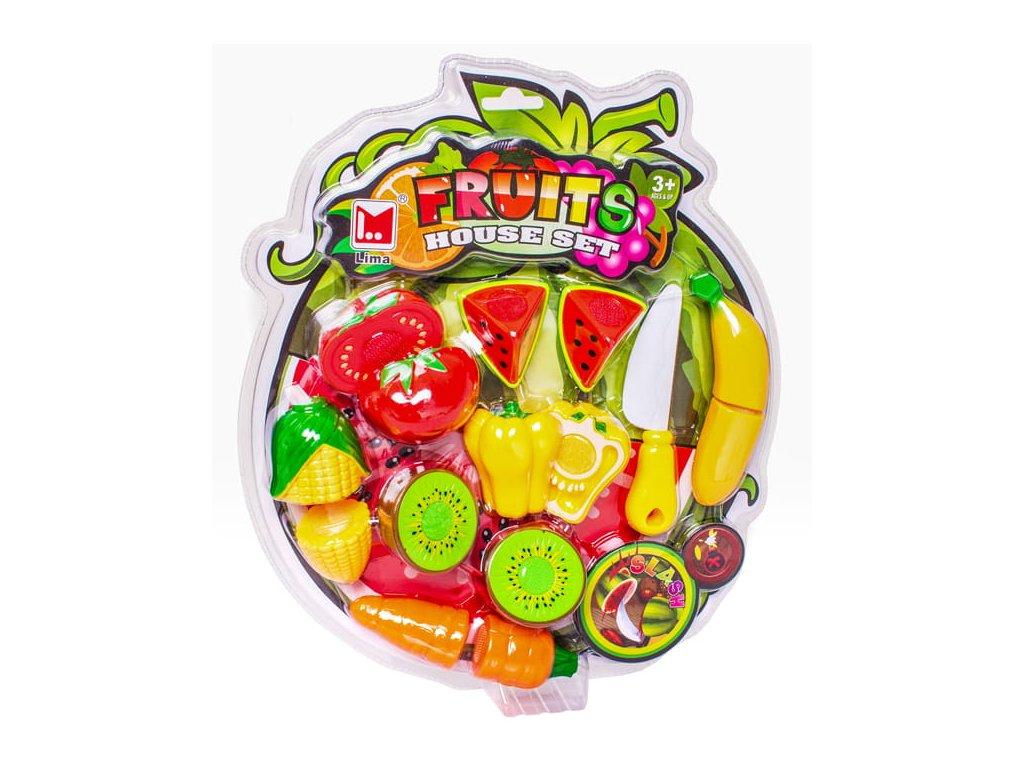 Sada ovoce a zeleniny na krájení se suchým zipem