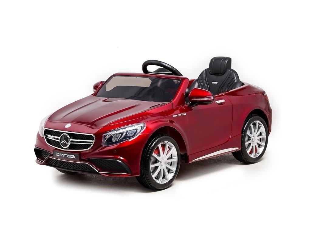 pol pl Auto na Akumulator Mercedes S63 Czerwony Lakier 3966 1