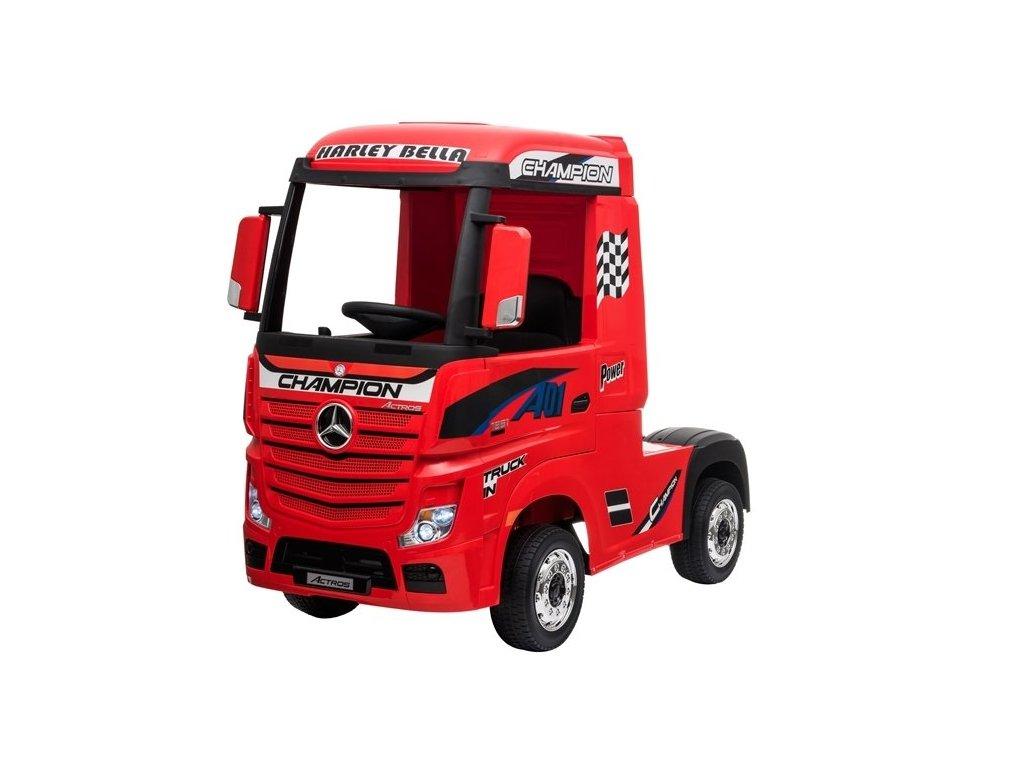 pol pl Auto na Akumulator Mercedes Actros Czerwone 4593 3