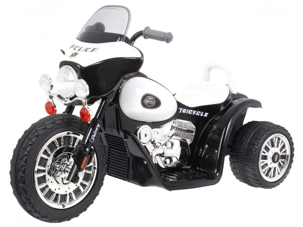Dětská elektrická motorka JT568 černá