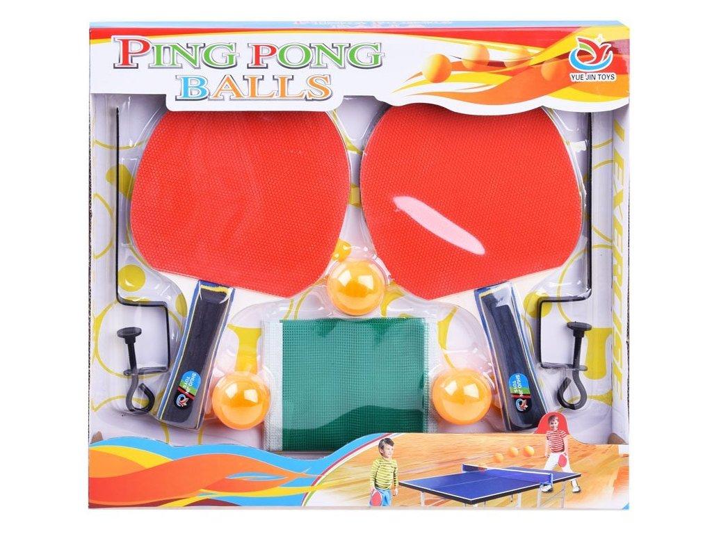 pol pl Zestaw do ping ponga PALETKI siatka pilki SP0564 14325 1