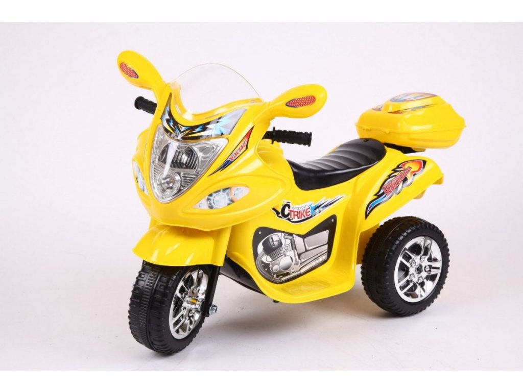 Pojazd Motorek BJ 088 Zolty [40377] 1200