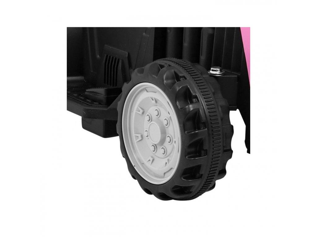 Traktor z Przyczepa Rozowy [40371] 1200