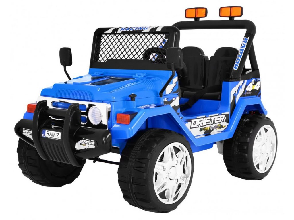 Pojazd RAPTOR Drifter Kola EVA 2 4G Niebieski [22664] 1200
