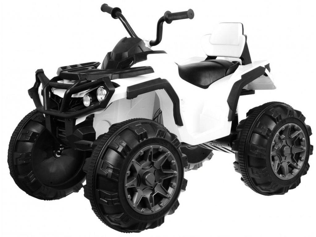 Pojazd Quad ATV Bialy [15710] 1200