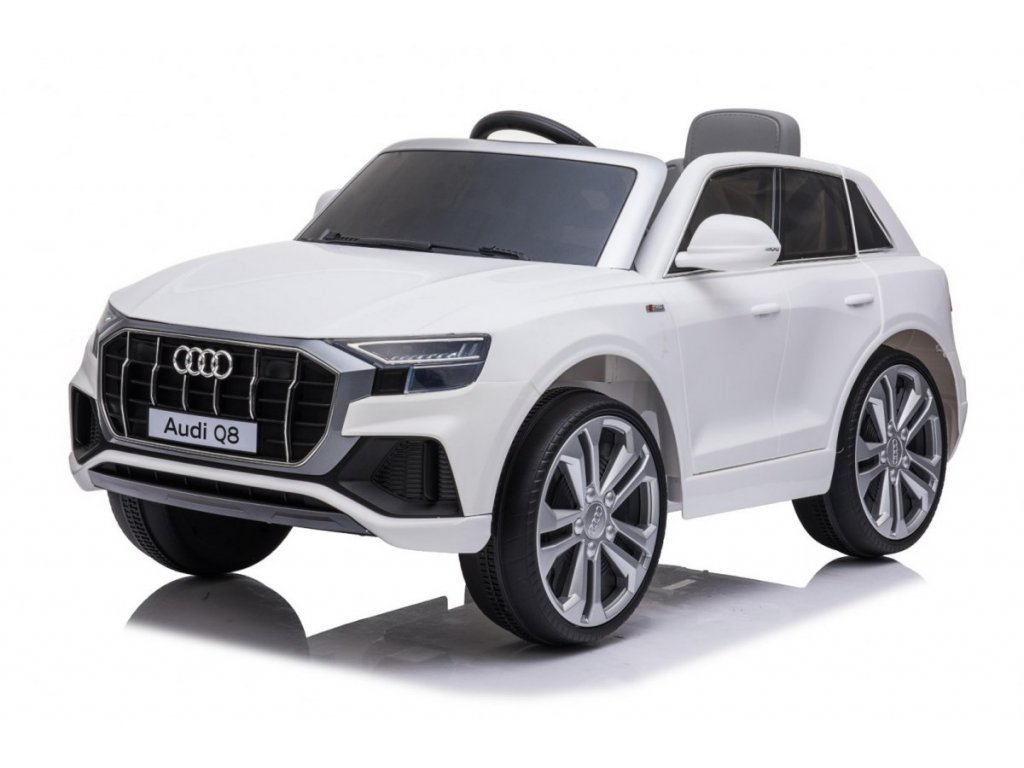 Pojazd Audi Q8 LIFT Bialy [40281] 1200