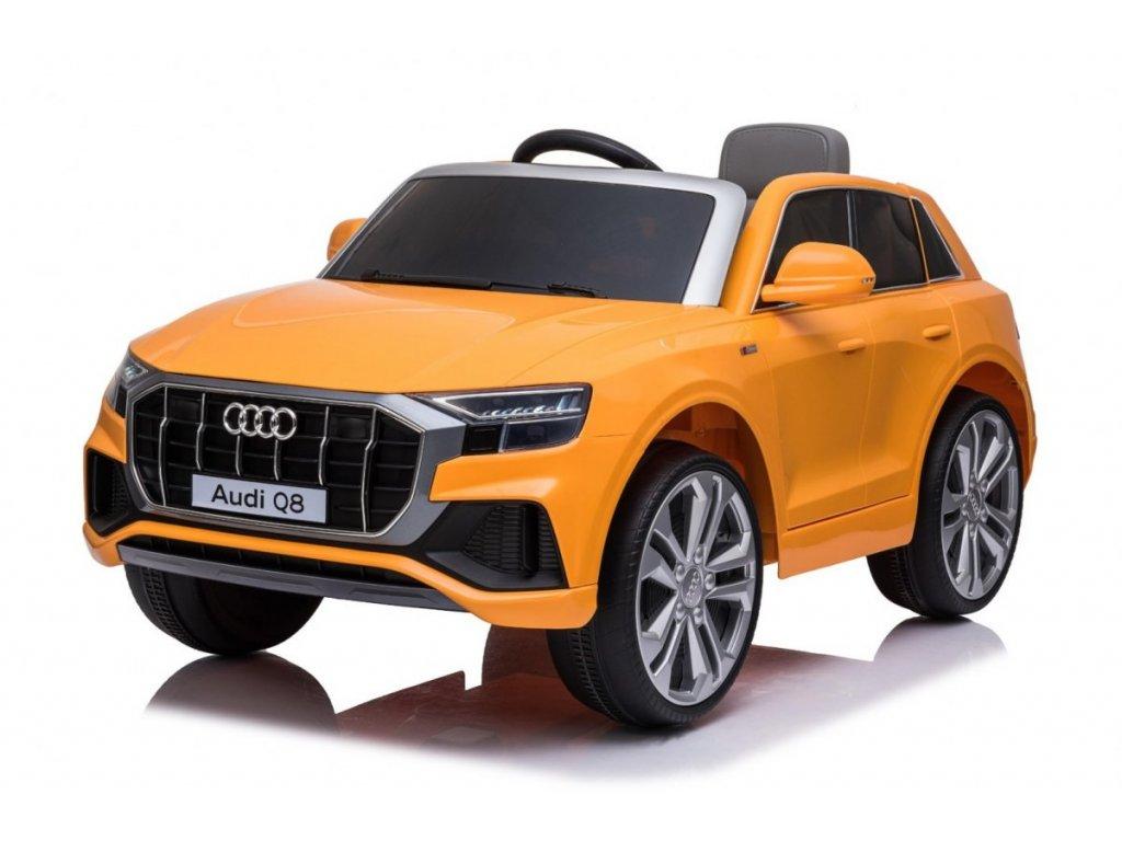 Pojazd Audi Q8 LIFT Zolty [40308] 1200