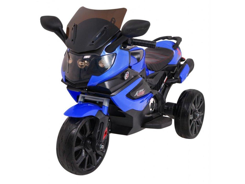 Pojazd Motorek Grand Sport Niebieski [41175] 1200
