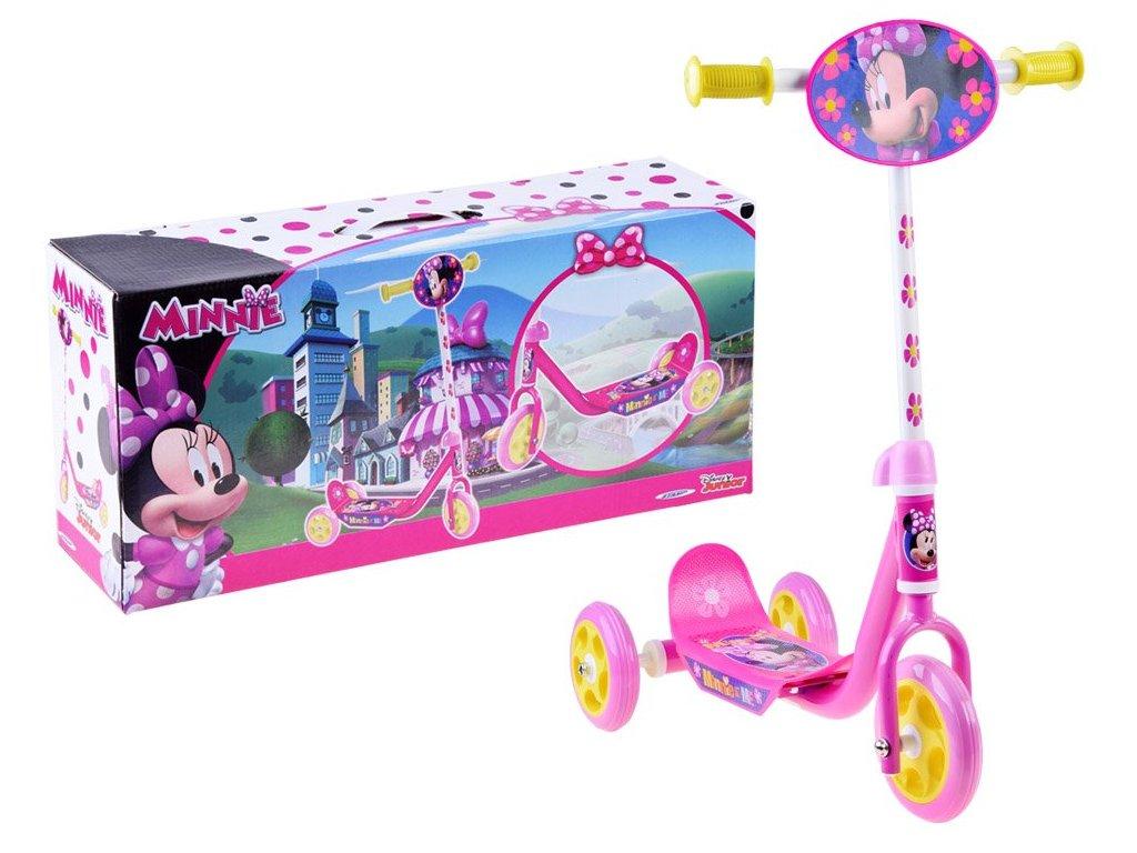 dívčí koloběžka minnie mouse (1)