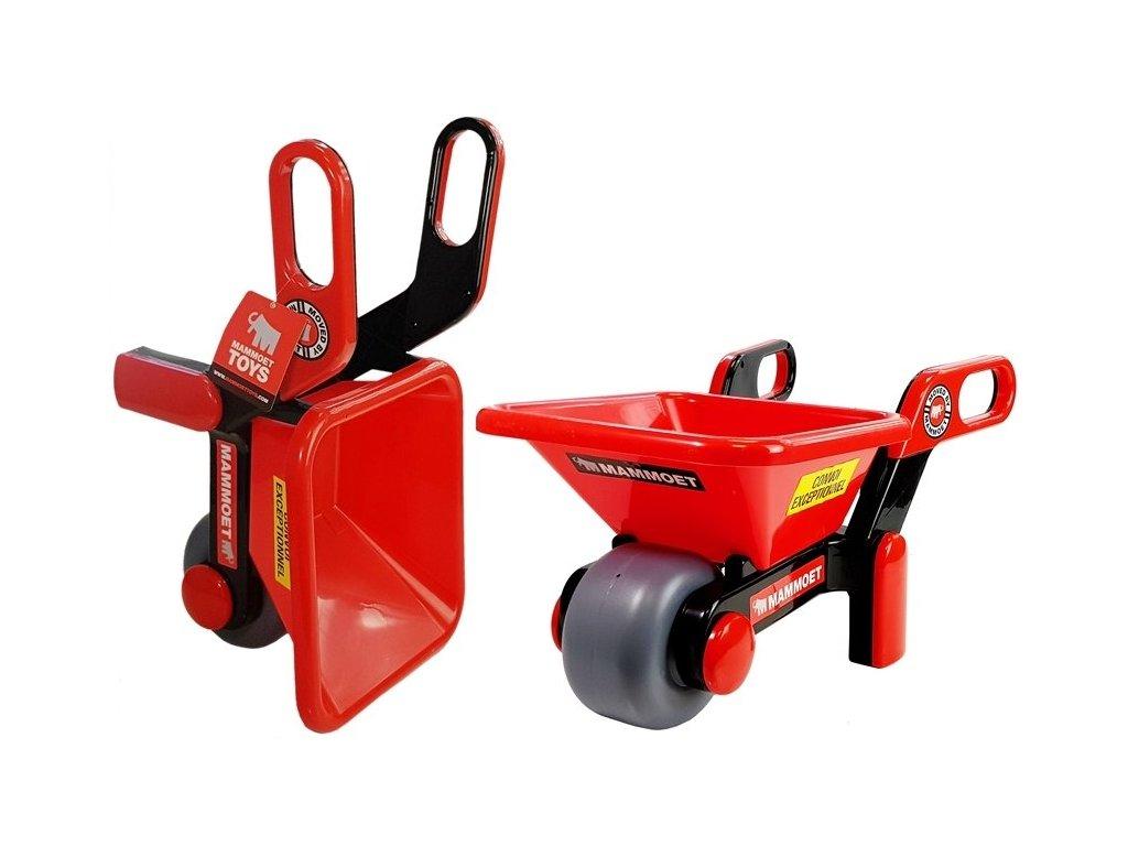 dětské zahradní kolečko červené (1)