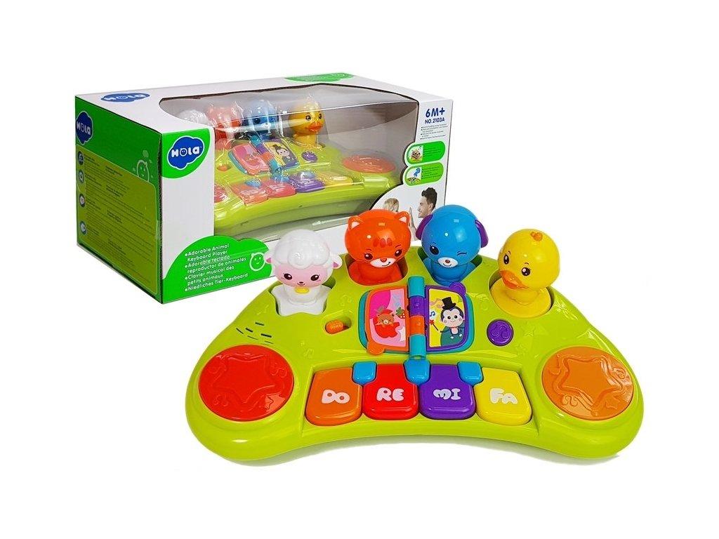 dětský interaktivní klavír swe zvířátky (5)