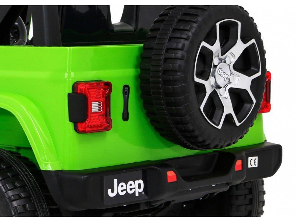 Elektrické autíčko Jeep Wrangler Rubicon 4x4 zelené1