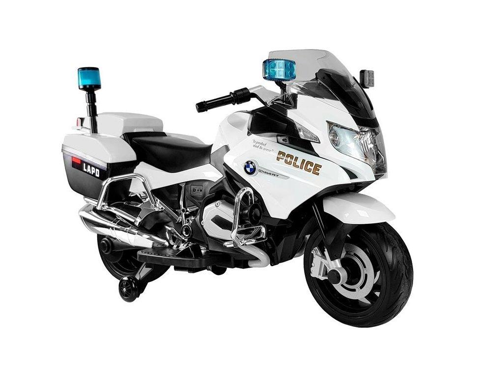 Elektrická motorka BMW R1200 Policie bílá