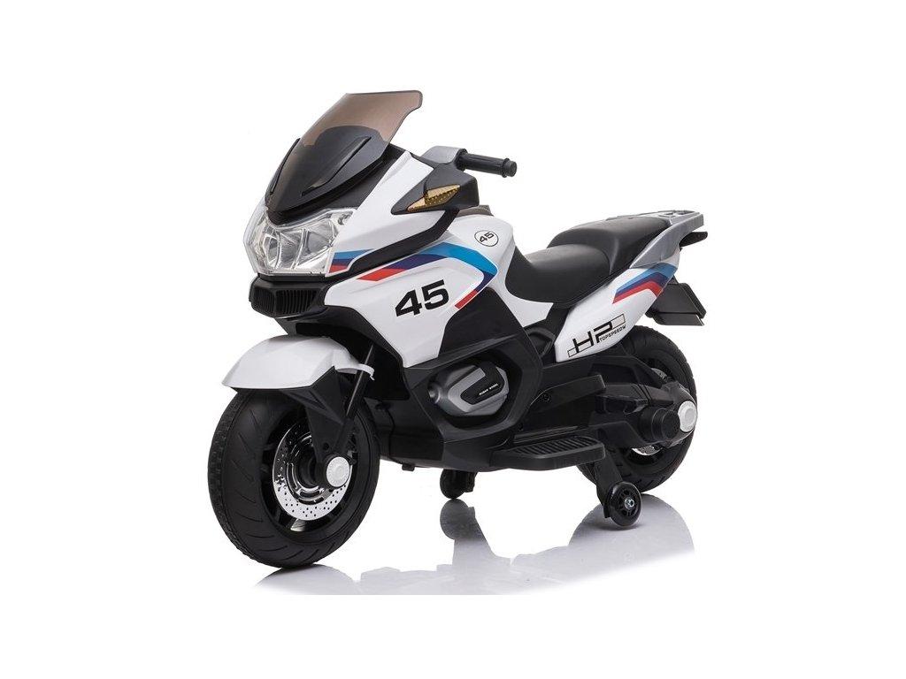 Dětská elektrická motorka XMX609 bílá3