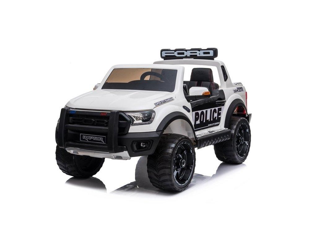 pol pl Auto na Akumulator Ford Raptor Police DK F150RP Bialy Lakier 4698 3