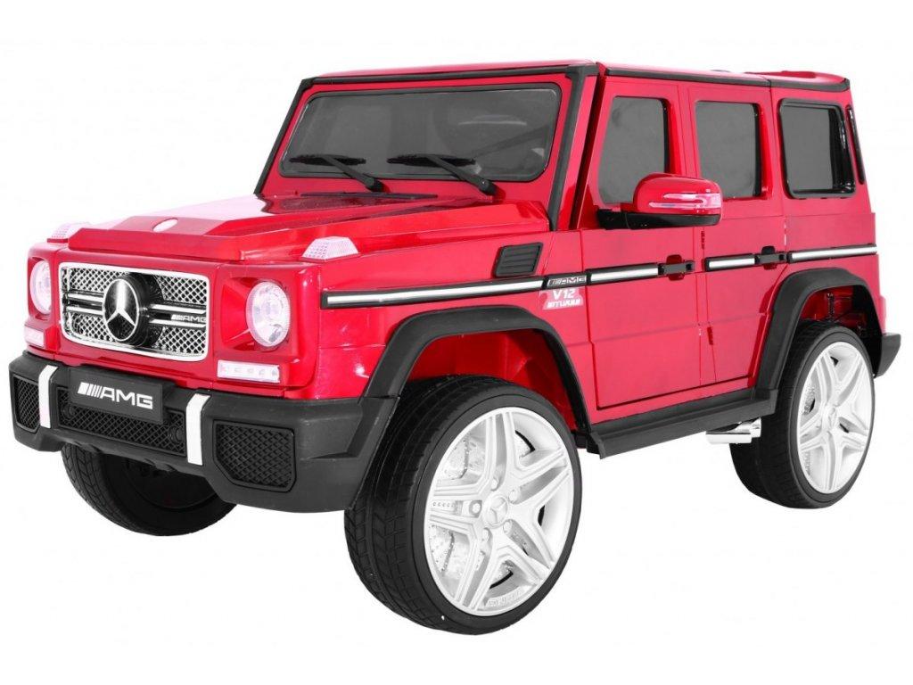 Pojazd Mercedes G65 2 4G Lakierowany Czerwony [22274] 1200