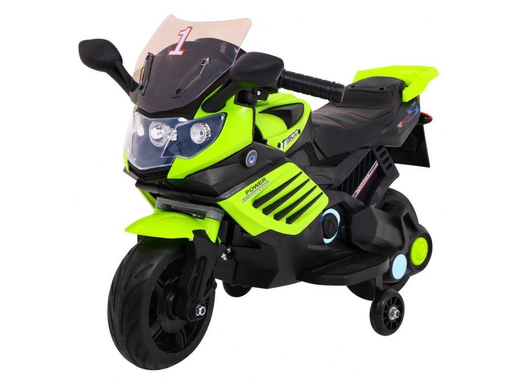 Pojazd Motorek SuperBike Zielony [41202] 1200