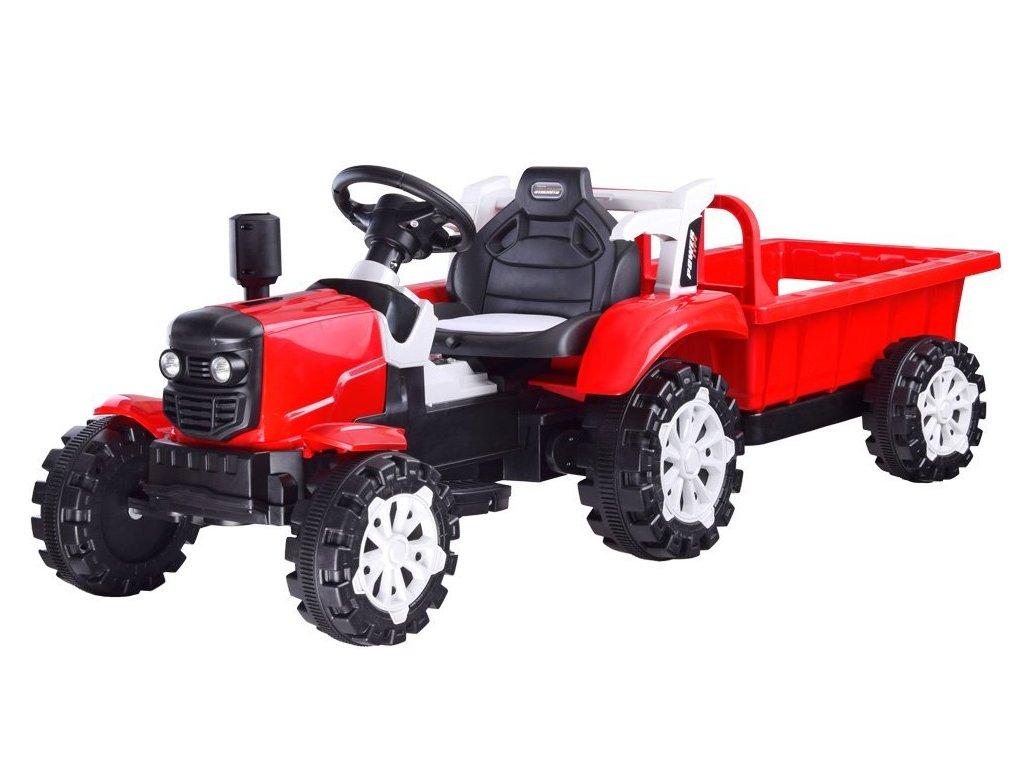 Elektrický traktor s přívěsem10