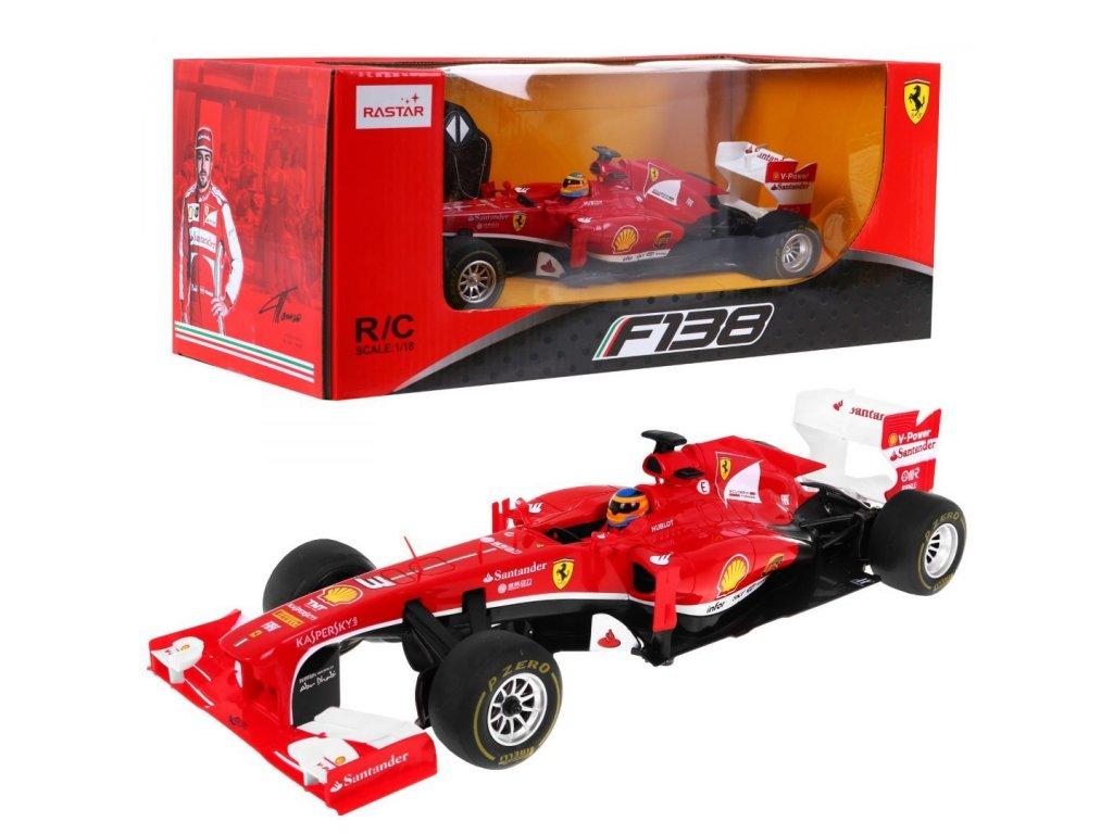 Formule Ferrari F138 1:18 na dálkové ovládání