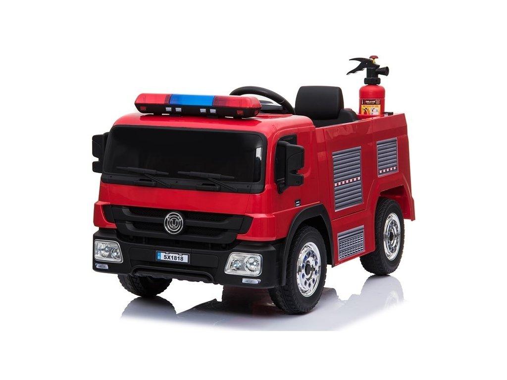 pol pl Pojazd Na Akumulator Woz Strazacki Czerwony 4095 2