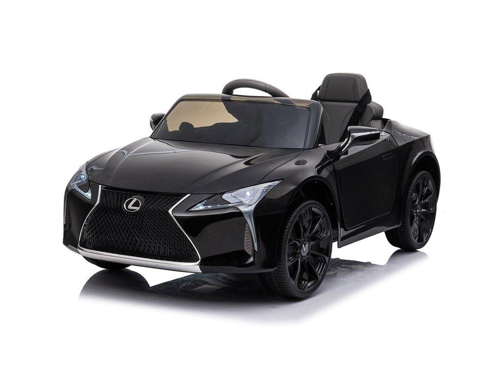 dětské elektrické autíčko lexus sport lakované černé (4)