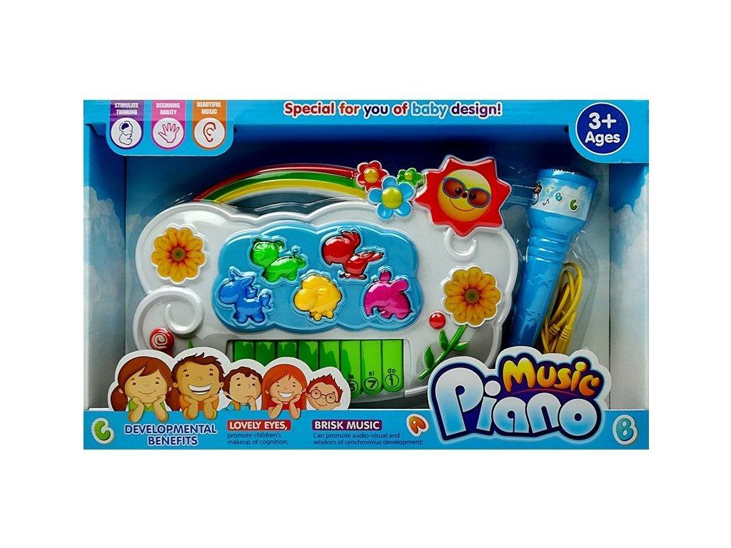 dětský interaktivní klavír kytičky (1)
