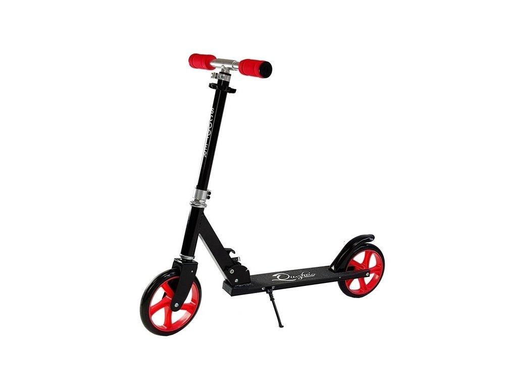 Dětská koloběžka Scooter velké kola černá1