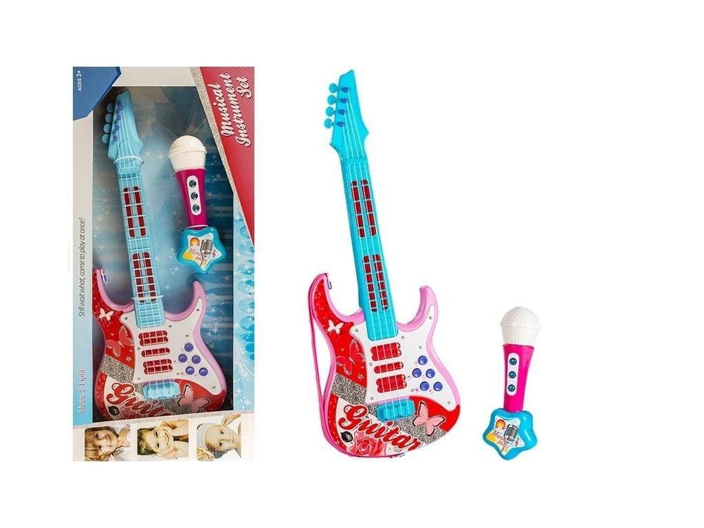 elektrická kytara s mikrofonem (3)