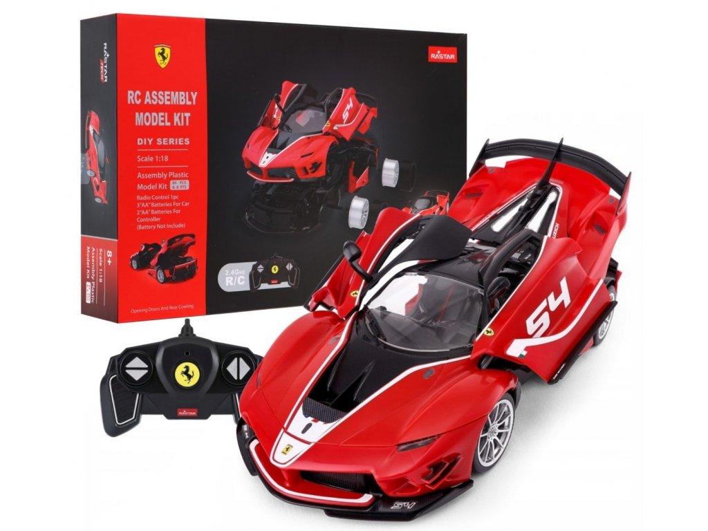 Auto na dálkové ovládání Ferrari FXX K RC červené
