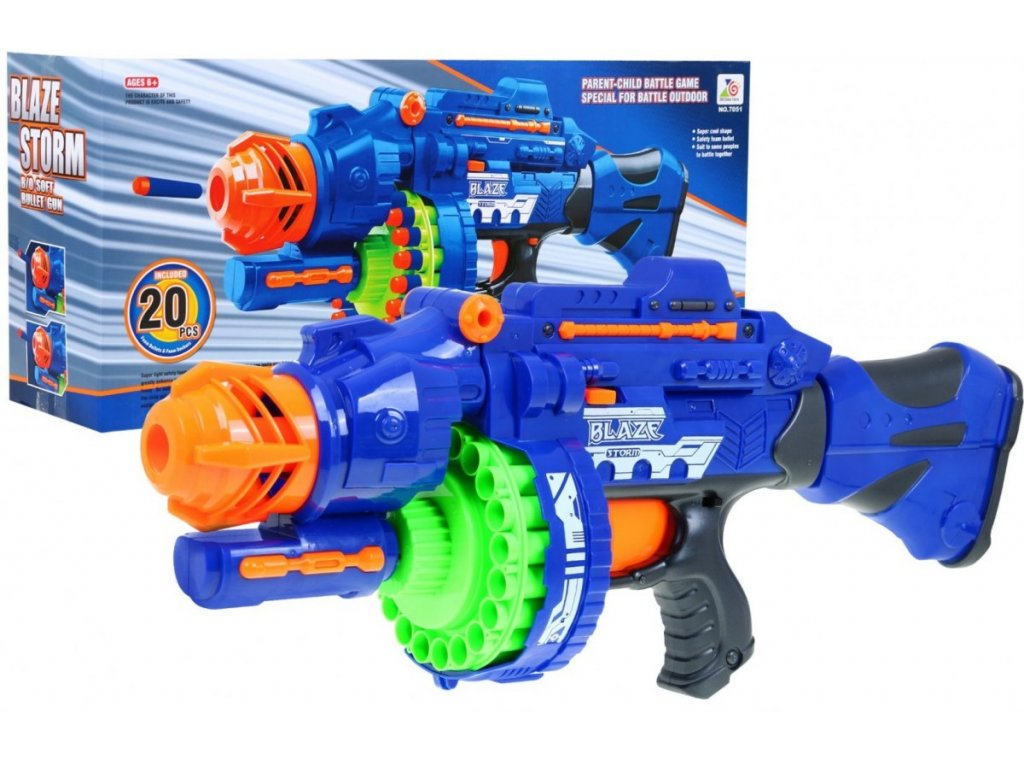Dětský samopal pistole Blaze Storm