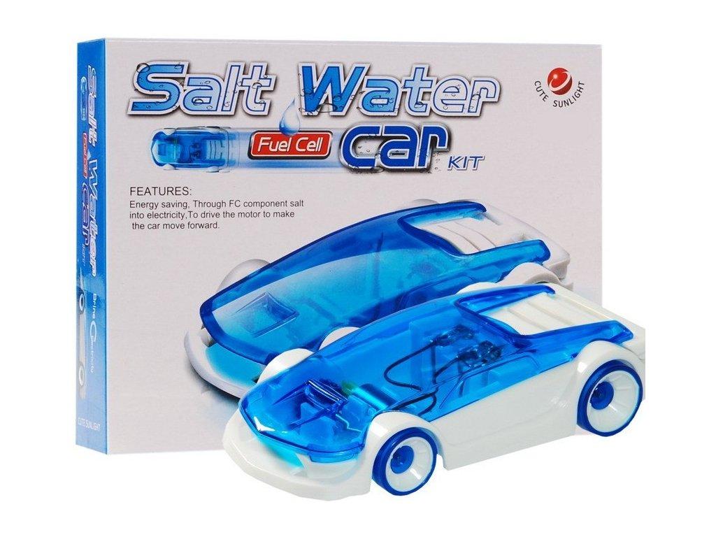 Autíčko s pohonem na slanou vodu