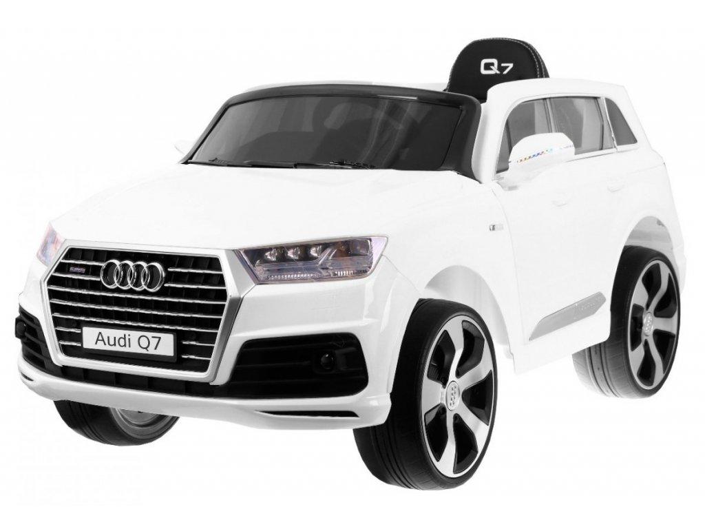 Elektrické autíčko AUDI Q7 LIFT bílé