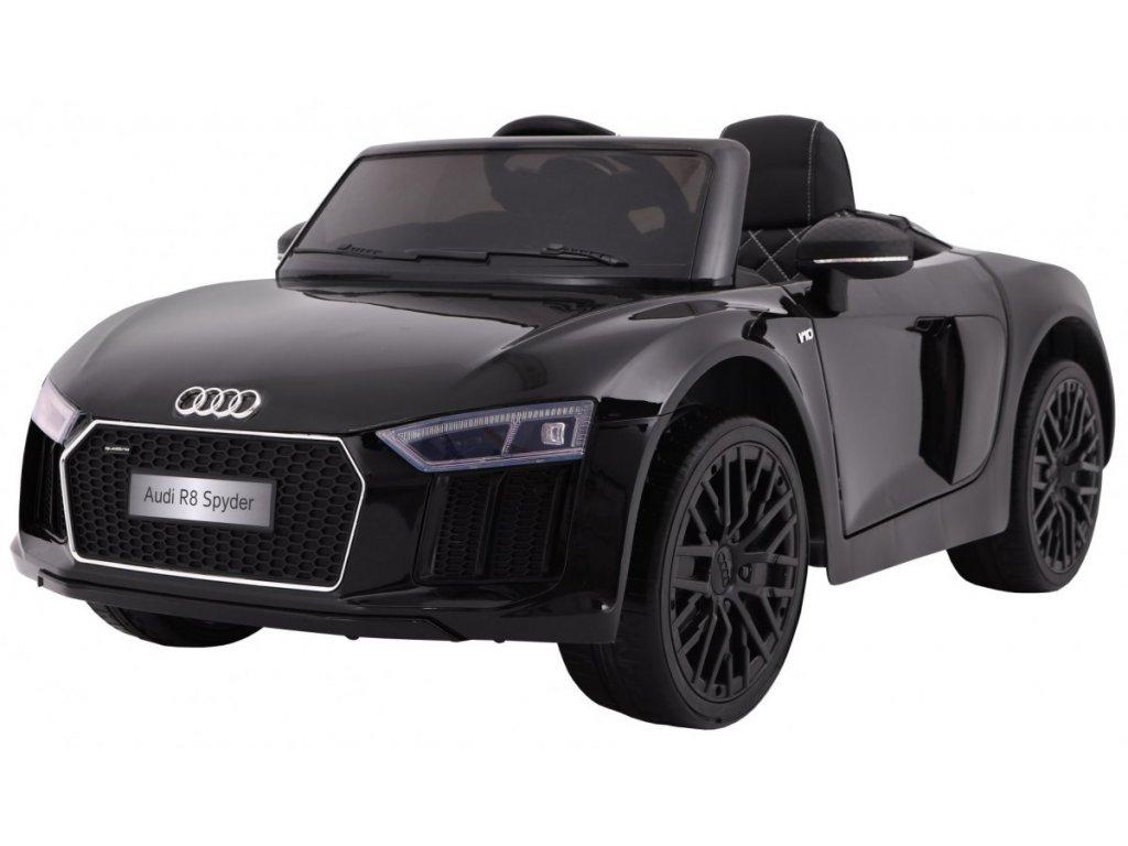 Elektrické autíčko Audi R8 Spyder černé