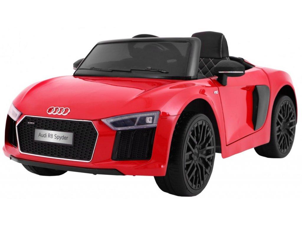 Elektrické autíčko Audi R8 Spyder červené