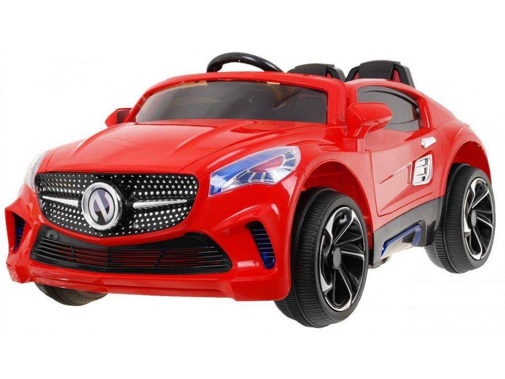 Elektrické autíčko Bandit 2,4 GHZ, červené