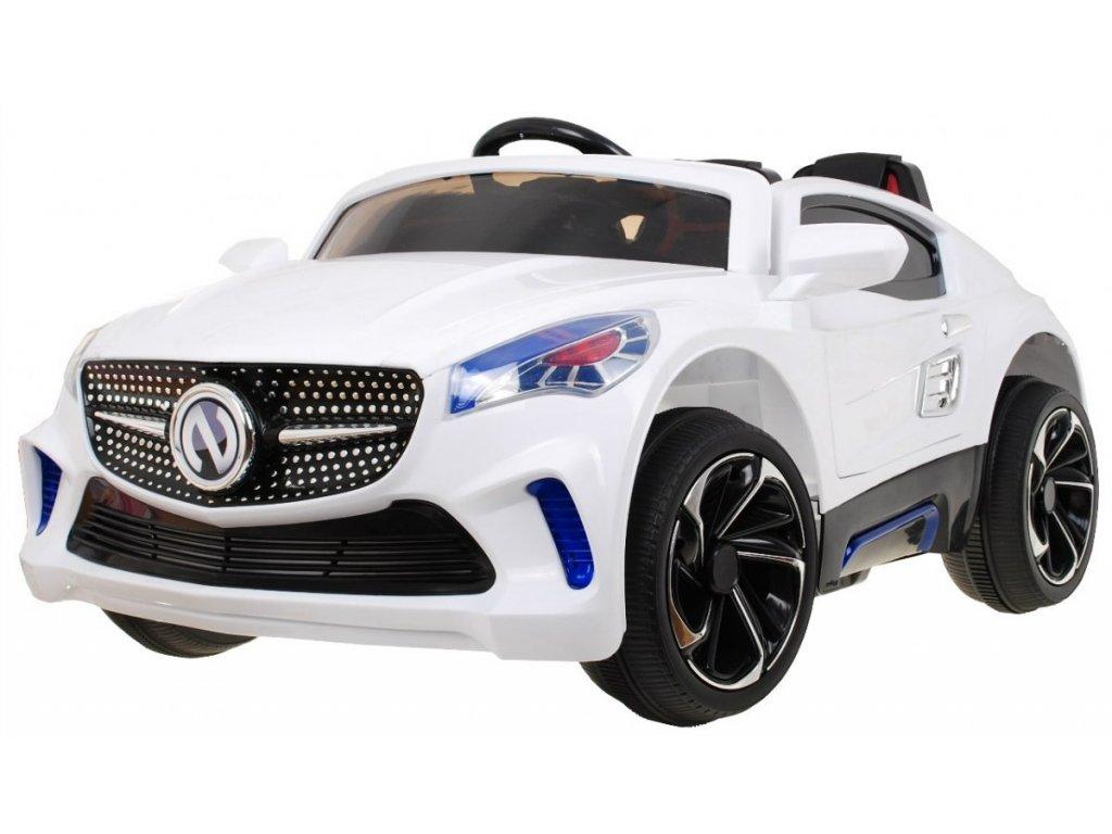 Elektrické autíčko Bandit 2,4 GHZ, bílé