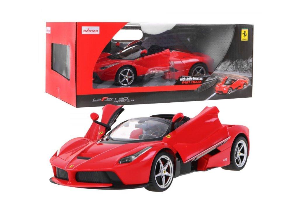 Ferrari LaFerrari Aperta na dálkové ovládání červené