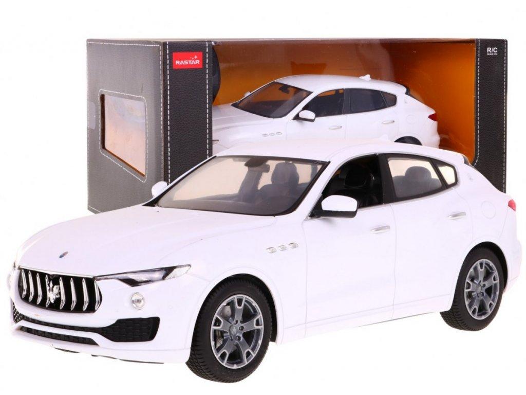 Maserati Levante na dálkové ovládání bílé