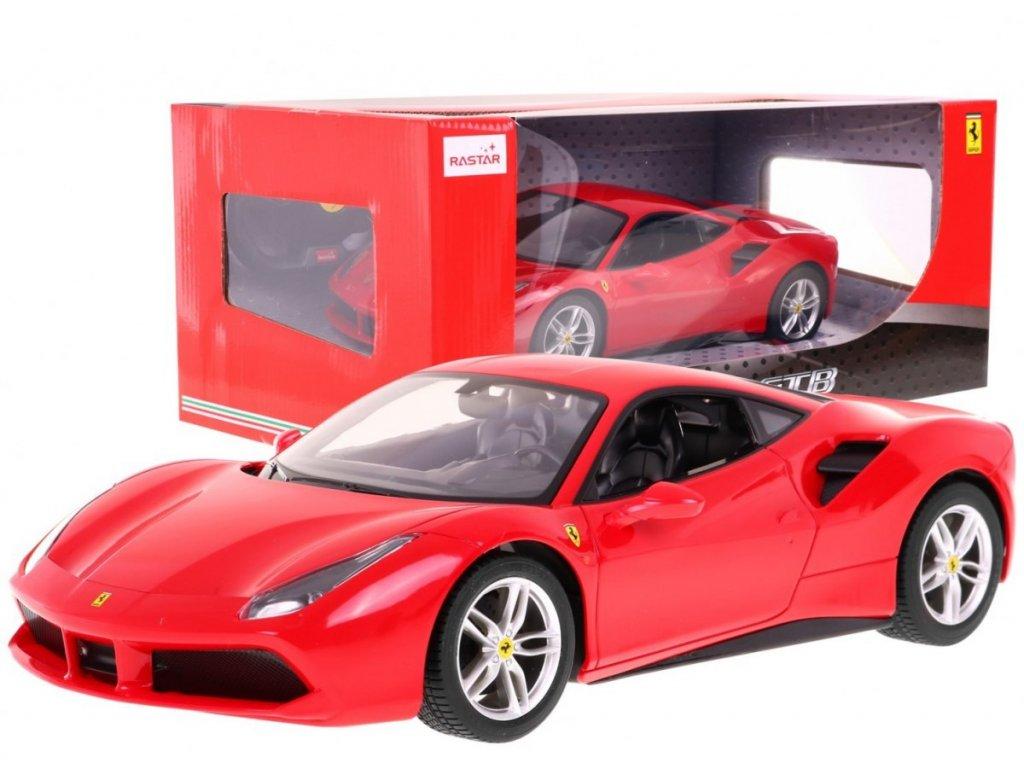 Ferrari 488 GTB na dálkové ovládání červené