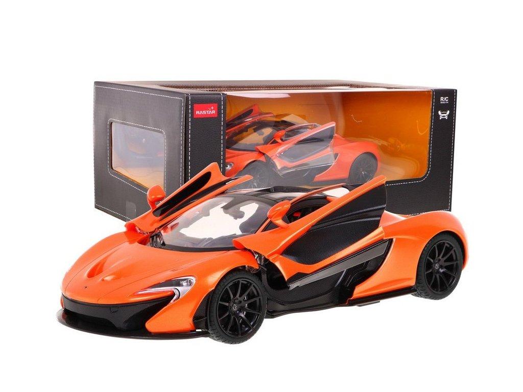 McLaren P1 na dálkové ovládání oranžové