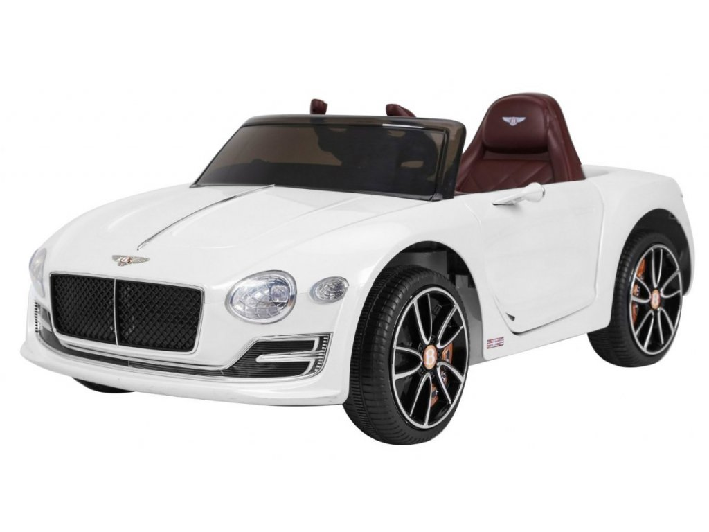 Pojazd Bentley E P12 Bialy [40418] 1200