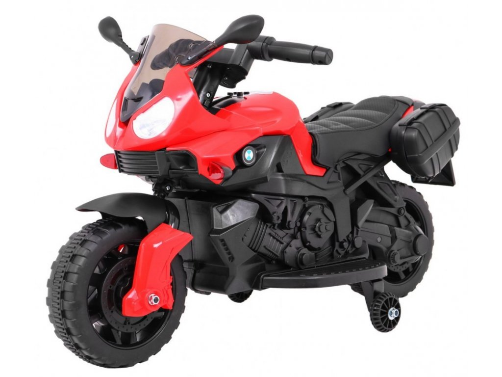 Pojazd Motorek Shadow Czerwony [34707] 1200